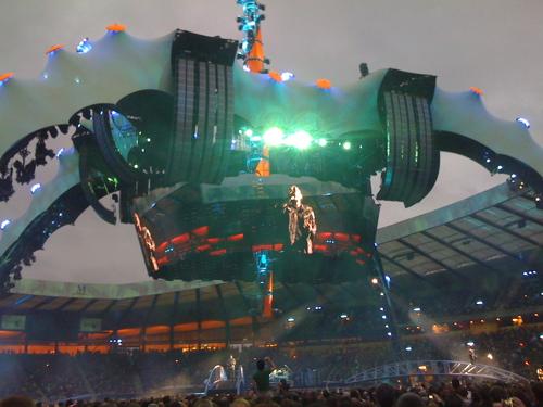 U2. Nice telly.