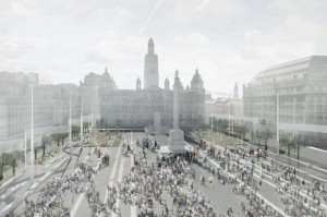 George square design entries
